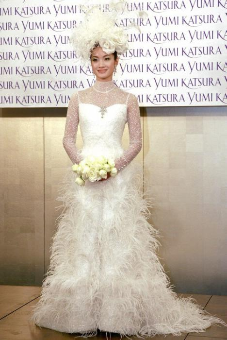 the most beautiful wedding dress in the world