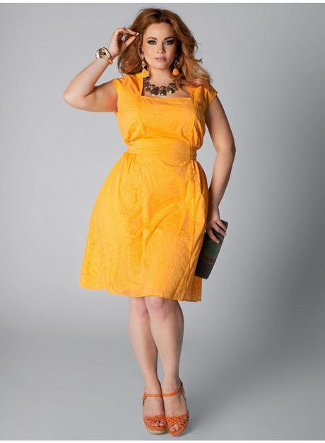 мода для полных женщин с животом фото