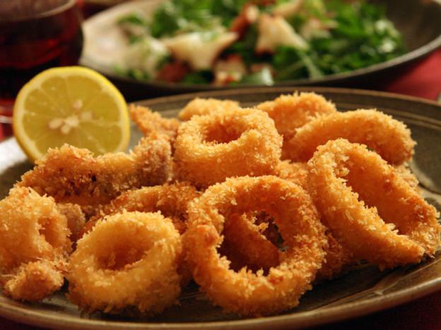 Кальмары кольцами: рецепт приготовления