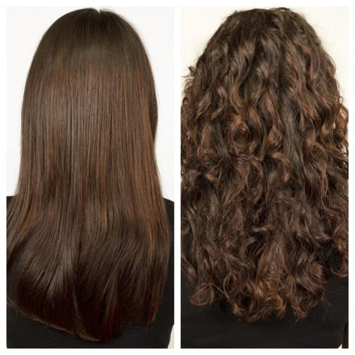 Как можно выпрямить волосы в домашних условиях - 991