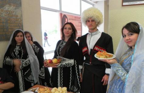Caucasian wedding greetings