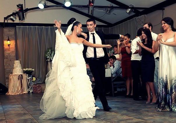 Caucasian style wedding