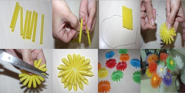 Цветок искусственный своими руками