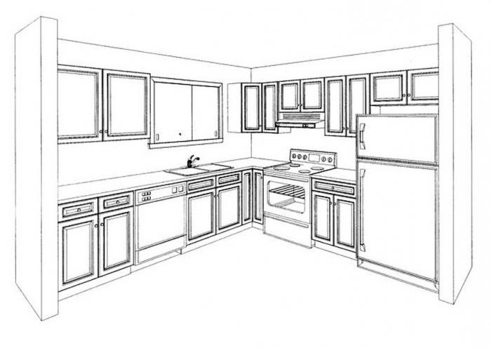 Проекты кухонь в картинках для детей