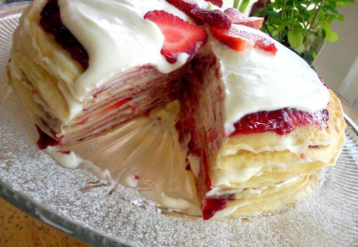 Блинный торт, рецепты с фото: 57 рецептов блинных тортов