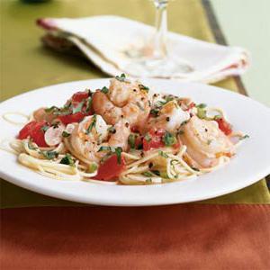 pasta with shrimps in cream sauce recipe