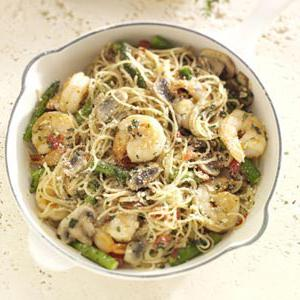 pasta with shrimps in tomato sauce recipe