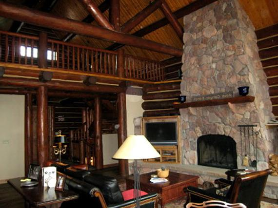 Log interior design