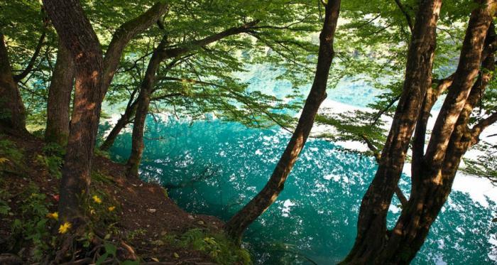 blue lakes of kabardino balkaria depth