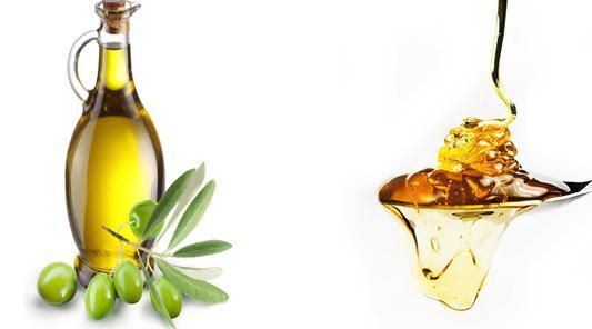 маска для волос мед оливковое масло