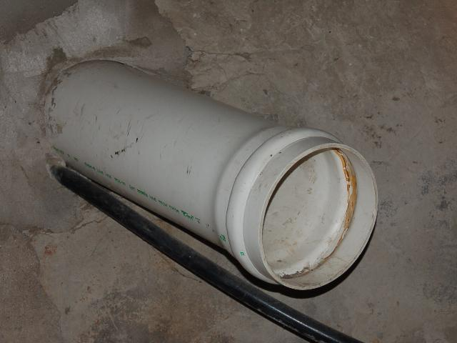 fan pipe diameter