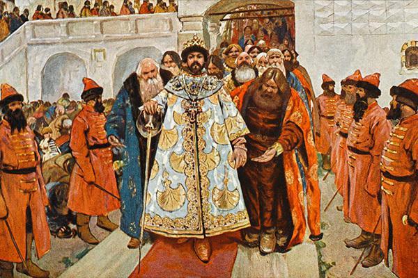 Правление Бориса Годунова Кратко