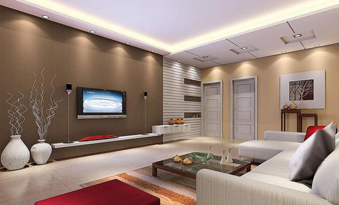 living room: interior design option
