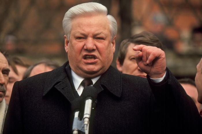 Yeltsin years of rule
