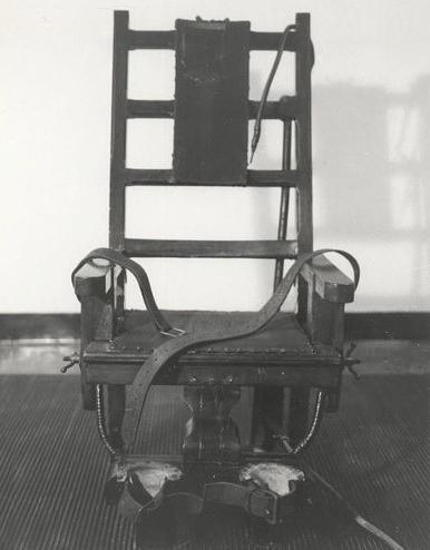 first electric chair