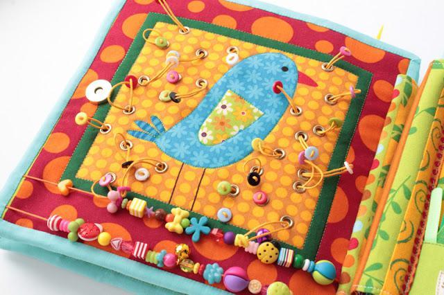 Шьем развивающую текстильную книжку для малыша своими 96
