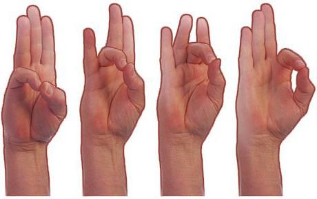 упражнения для пальцев рук