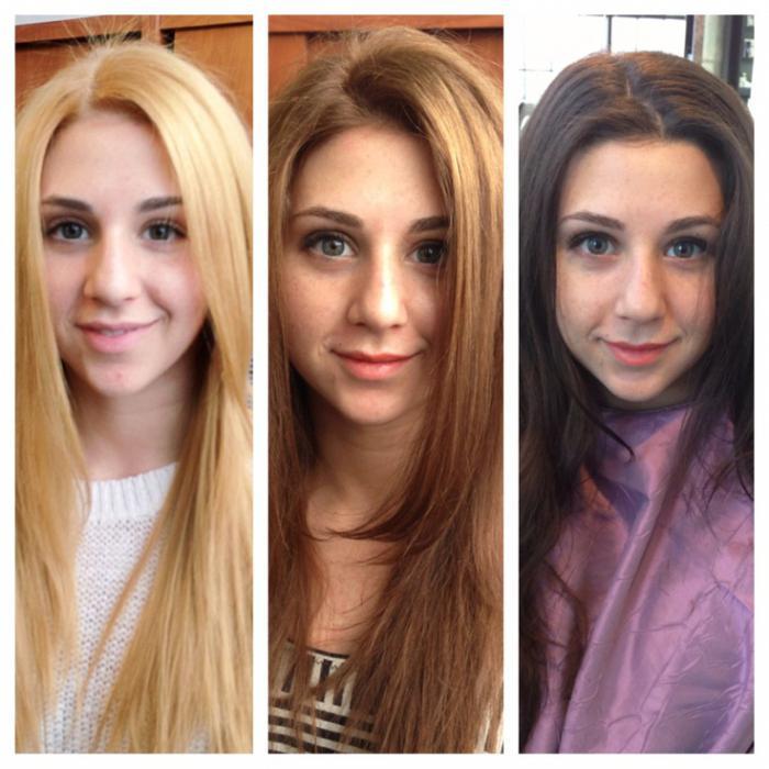 Отзывы снятие краски с волос
