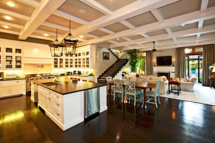 частный интерьер в средиземноморском стиле красивые дома