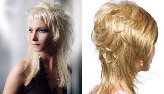 Прическа на средние волосы аврора