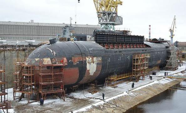 multipurpose nuclear submarines of Russia