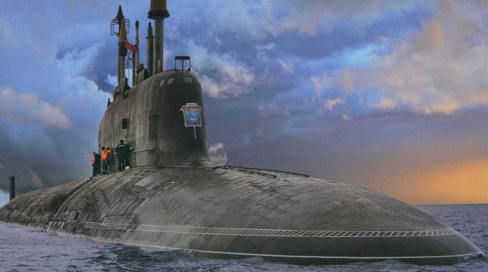 modern nuclear submarines of Russia