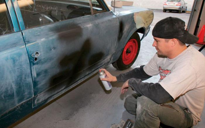Покраска авто своими руками из баллончика фото