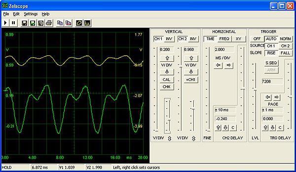 oscilloscope from computer