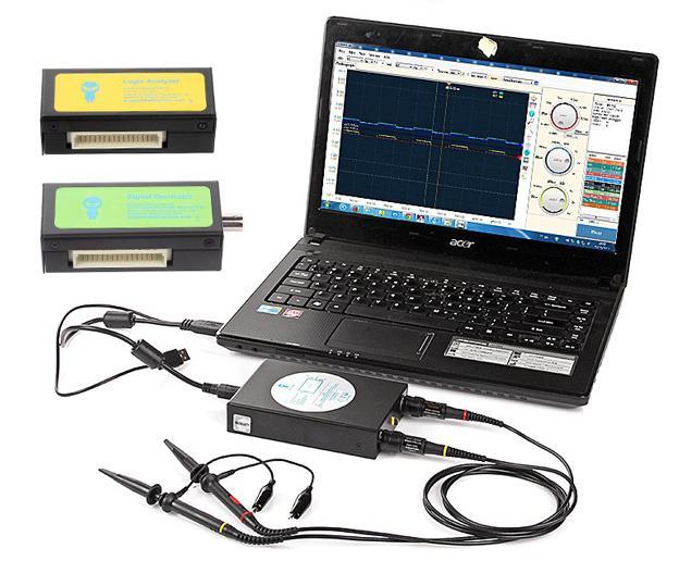 computer oscilloscope generator