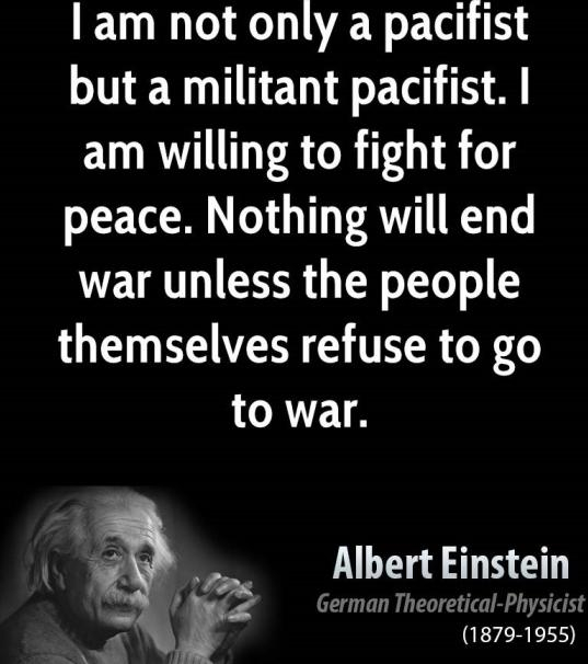 meaning of the word pacifist