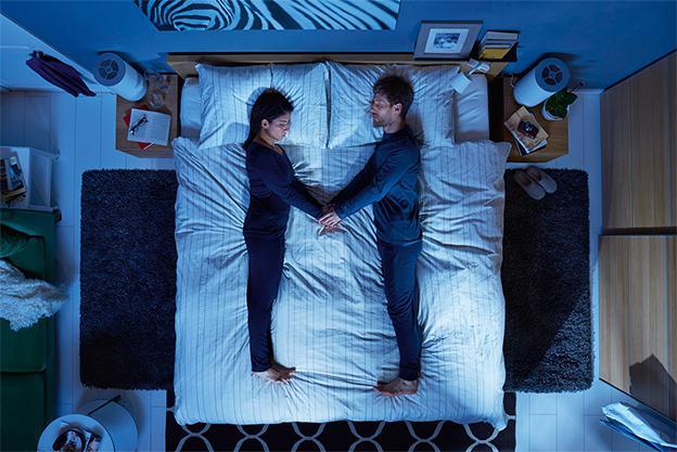 двуспальная кровать размеры