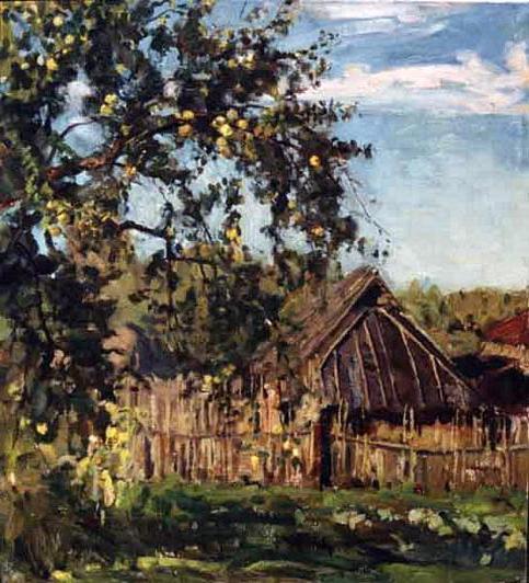 Bunin Antonov apples summary