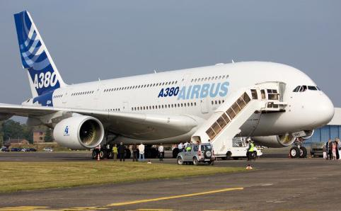 the largest passenger plane in the world