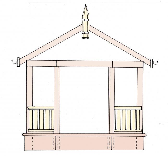 Декор садового участка 29