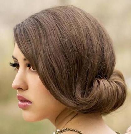 Причёска на волосы до плеч своими руками на свадьбу