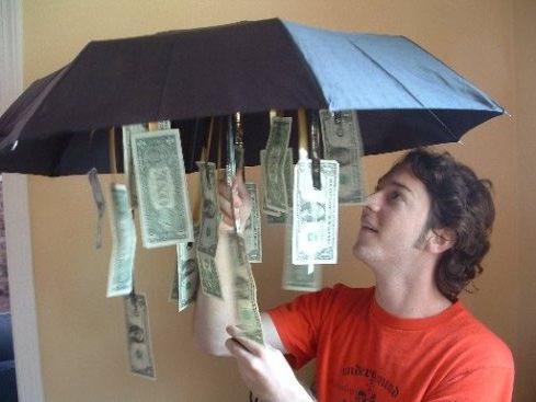 Как подарить деньги прикольно оригинально на день рождения