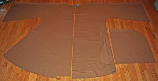 выкройка домашнего халата