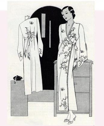выкройка халата размер