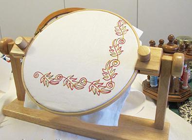 станок для вышивания своими руками
