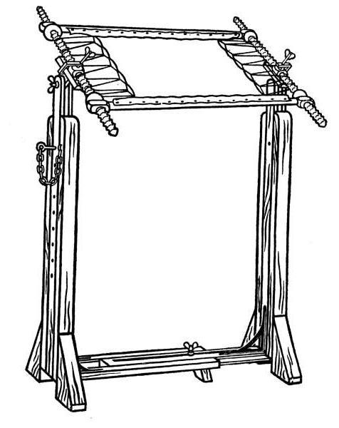 станок для вышивания своими руками чертеж
