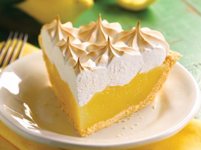 Лимонные меренги рецепт