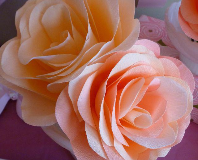 Делаем бумажные цветы