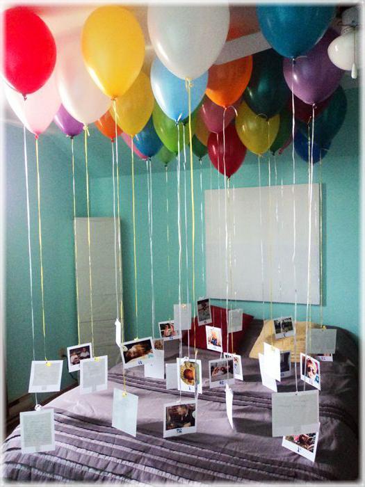 Оформление с днем рождения мужчине