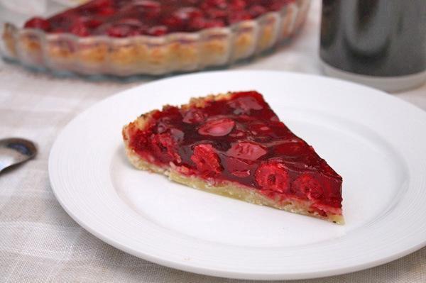 тирольский пирог вишня