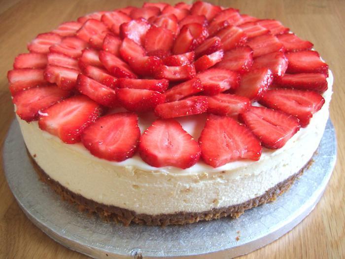 тирольский пирог с ягодами