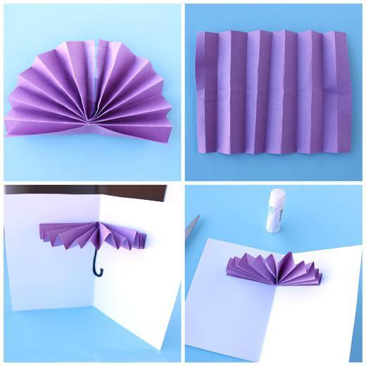 поделки из цветной бумаги выкройки