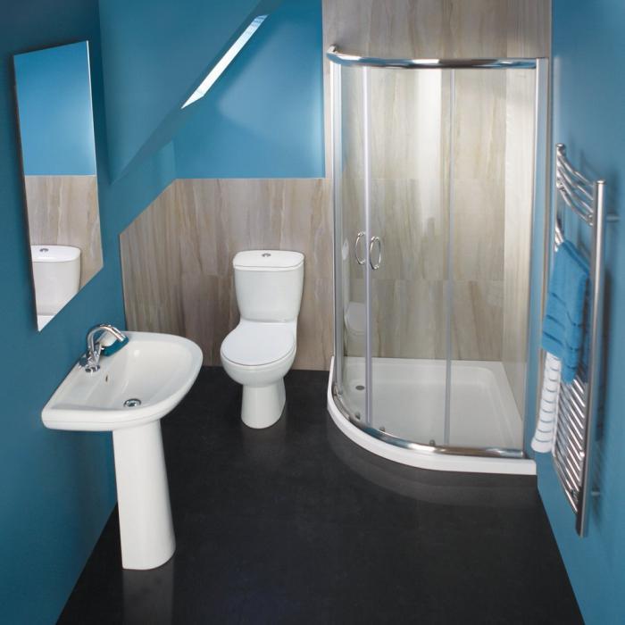 дизайн ванной комнаты совмещенного санузла