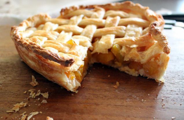 легкий рецепт пирога с клубникой