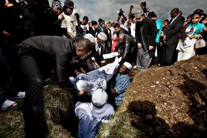 как хоронят мусульман фото