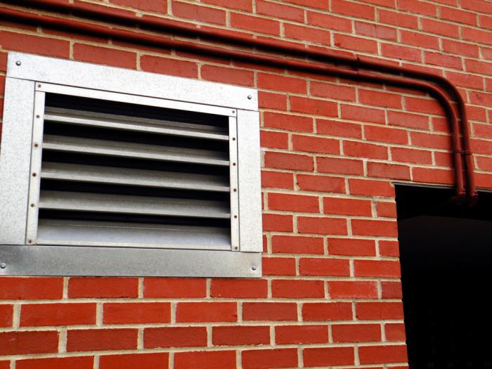 dimensions of ventilation ducts